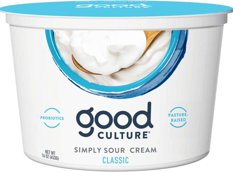 $1.75 for Good Culture® Sour Cream. Offer available at Publix.