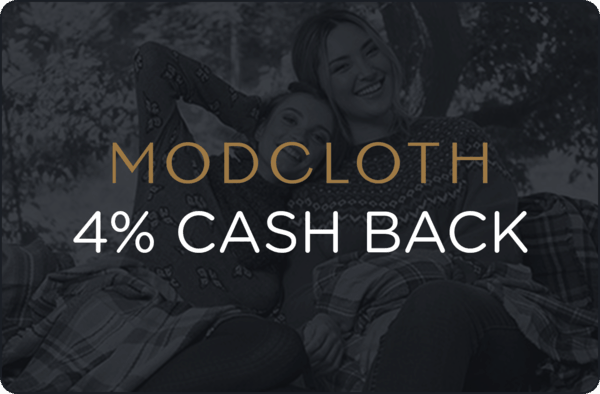 $0.00 for ModCloth (expiring on Wednesday, 05/23/2018). Offer available at ModCloth.