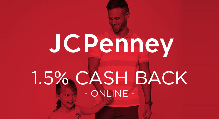 $0.00 for JCPenney (expiring on Wednesday, 01/15/2025). Offer available at JCPenney.com.