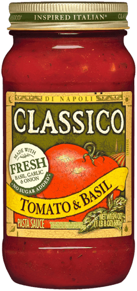 $1.00 for CLASSICO® Pasta Sauce (expiring on Wednesday, 02/28/2018). Offer available at multiple stores.