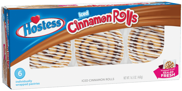 $0.75 for Hostess® Iced Cinnamon Rolls (expiring on Wednesday, 01/01/2020). Offer available at multiple stores.