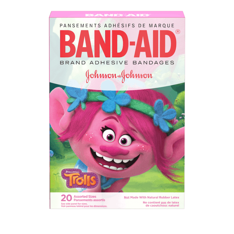 $0.50 for BAND-AID Brand Decorative Adhesive Bandages (expiring on Monday, 05/04/2020). Offer available at multiple stores.