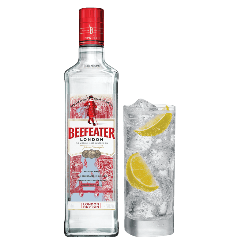 $6.00 for Beefeater Gin. Offer available at Any Restaurant, Any Bar.