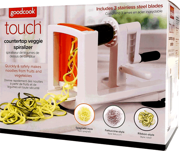 $7.00 for GoodCook® Touch Countertop Spiralizer. Offer available at multiple stores.