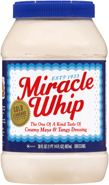 $0.25 for KRAFT® Miracle Whip (expiring on Sunday, 06/02/2019). Offer available at Walmart.