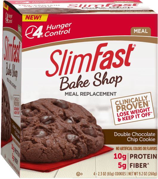 $1.00 for SlimFast® BakeShop Products (expiring on Sunday, 09/02/2018). Offer available at multiple stores.