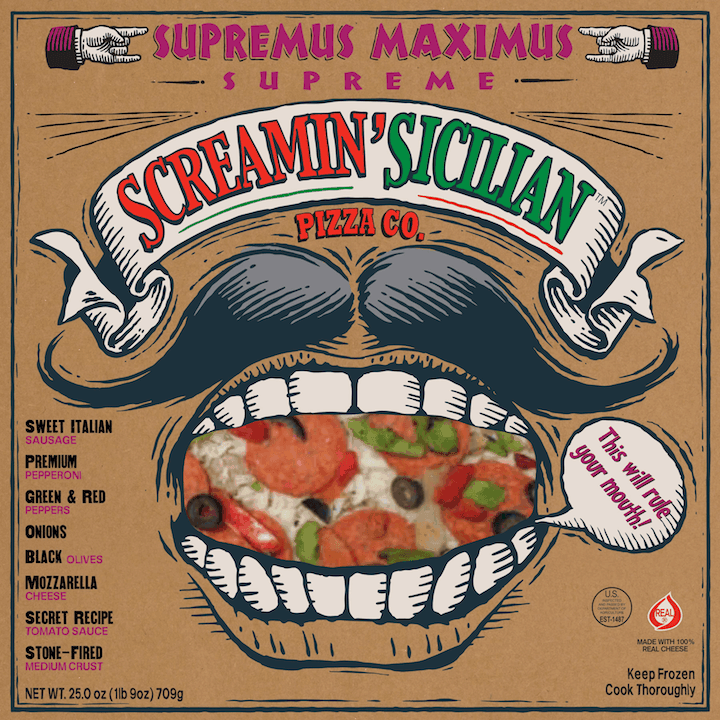$2.00 for Screamin' Sicilian™ Pizza Co.. Offer available at multiple stores.
