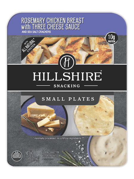 $0.75 for Hillshire® Snacking Small Plates with Cheese Sauce (expiring on Wednesday, 10/10/2018). Offer available at multiple stores.