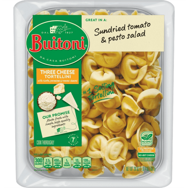$1.00 for BUITONI® Refrigerated Pasta (expiring on Tuesday, 04/02/2019). Offer available at Walmart.