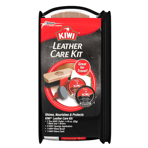 $4.00 for Kiwi® Leather Care Kit (expiring on Tuesday, 07/02/2019). Offer available at Walmart.