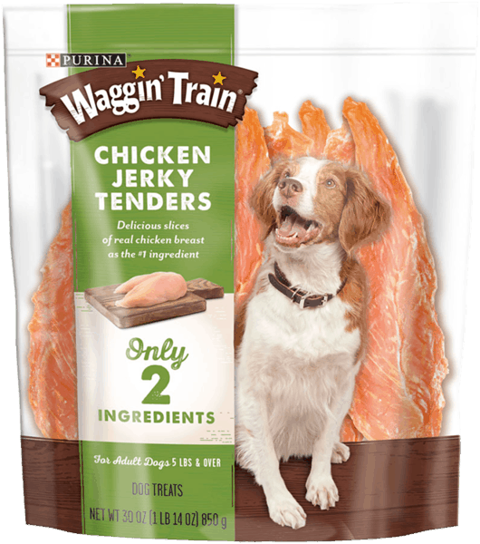 $0.75 for Waggin' Train® Dog Treats (expiring on Saturday, 10/06/2018). Offer available at Walmart.