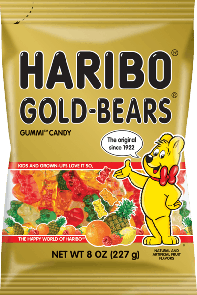 $0.25 for HARIBO® Gummi Candy (expiring on Sunday, 12/31/2017). Offer available at Walmart.