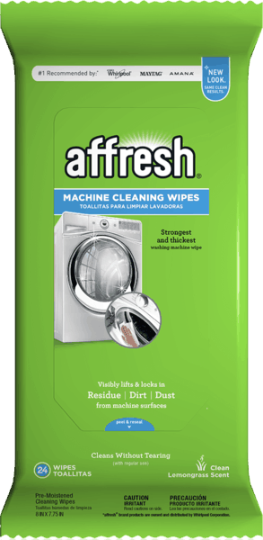 $1.00 for affresh® Machine Cleaning Wipes (expiring on Tuesday, 01/08/2019). Offer available at Target, Meijer, Food Lion, Home Depot, Lowe's.
