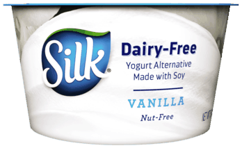 $0.25 for Silk® Dairy-Free Yogurt Alternative. Offer available at multiple stores.