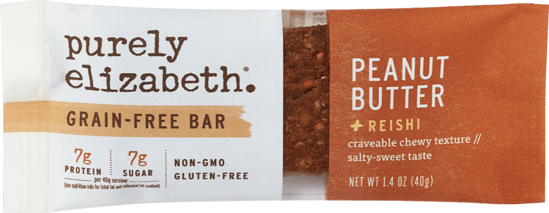 $0.50 for Purely Elizabeth® Grain-Free Bars (expiring on Wednesday, 10/02/2019). Offer available at Walmart.