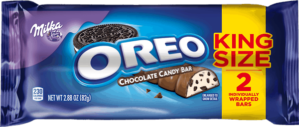$0.55 for MILKA OREO Chocolate Candy Bars (expiring on Tuesday, 08/08/2017). Offer available at multiple stores.