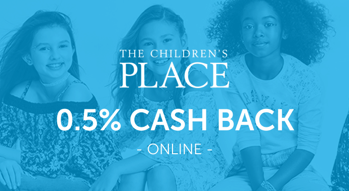 $0.00 for The Children's Place (expiring on Friday, 10/31/2025). Offer available at ChildrensPlace.com.