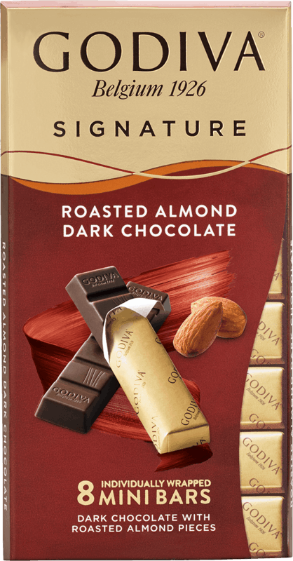 $0.75 for Godiva Signature Chocolate Bar (expiring on Monday, 09/13/2021). Offer available at multiple stores.