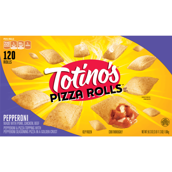 $1.00 for Totino's™ Pizza Rolls®. Offer available at Walmart.