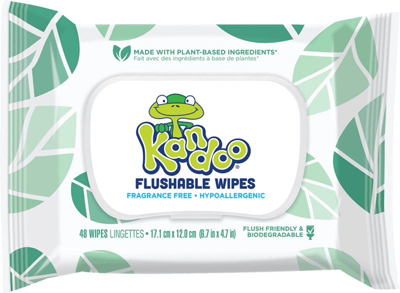 $0.75 for Kandoo Flushable Wipes (expiring on Wednesday, 09/01/2021). Offer available at Walmart, Walmart Pickup & Delivery.