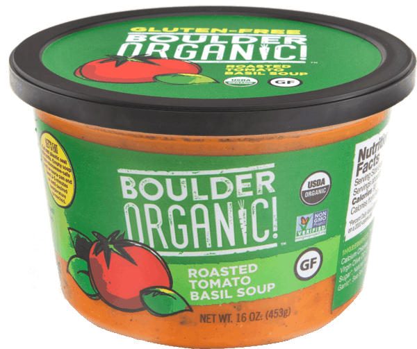 $1.25 for Boulder Organic!® Soup (expiring on Sunday, 09/02/2018). Offer available at Natural Grocers.
