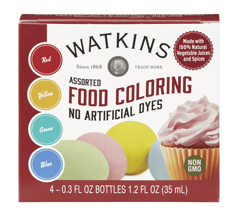 $0.50 for Watkins Food Coloring or Baking Decorations (expiring on Tuesday, 04/28/2020). Offer available at multiple stores.