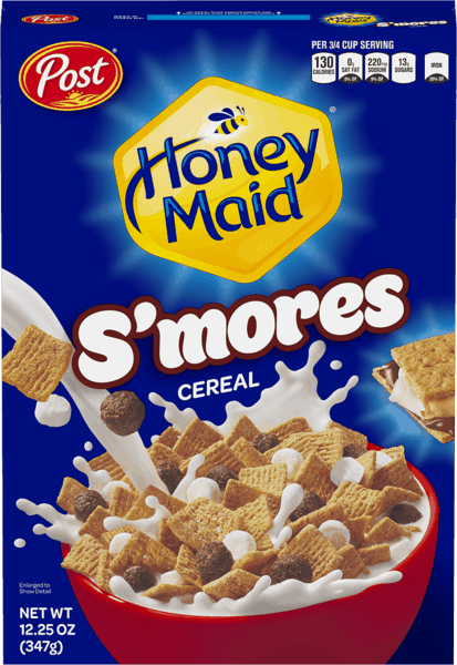 $0.50 for Post® HONEY MAID® S'mores™ (expiring on Thursday, 03/07/2019). Offer available at WinCo Foods.