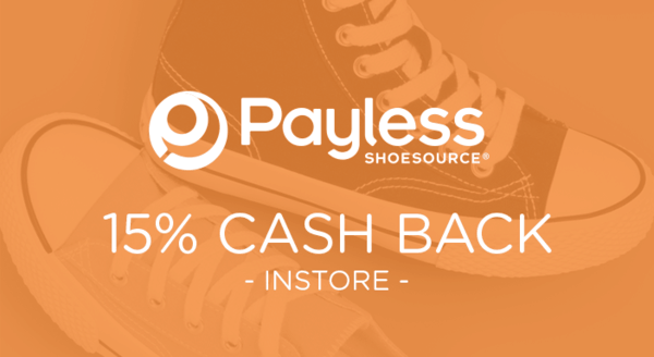 $0.00 for Payless ShoeSource (expiring on Monday, 09/24/2018). Offer available at Payless ShoeSource.