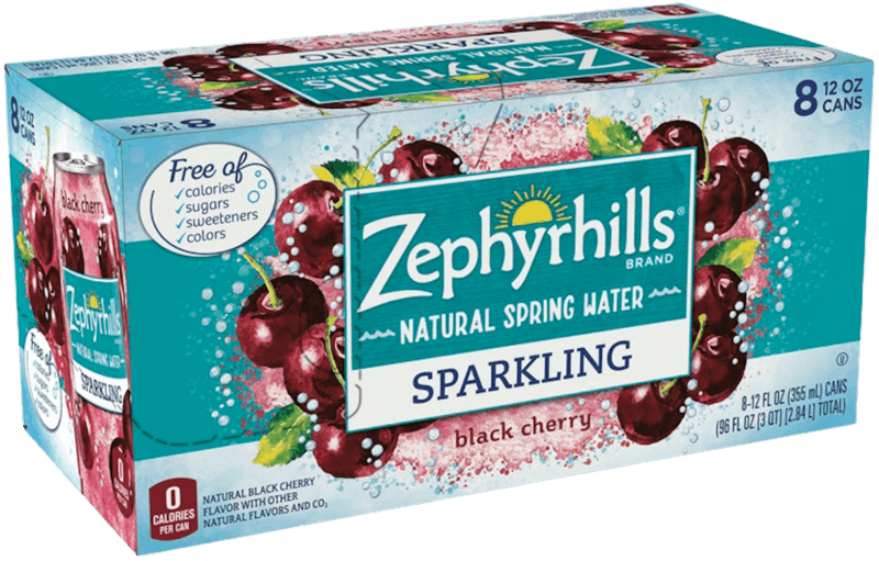 $1.00 for ZEPHYRHILLS® Brand Sparkling Natural Florida Spring Water (expiring on Sunday, 02/02/2020). Offer available at Walmart.