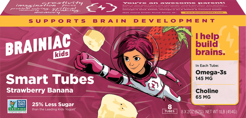 $1.00 for Brainiac Kids Yogurt Tubes (expiring on Monday, 02/01/2021). Offer available at Whole Foods Market®, Raley's.