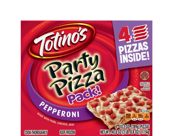$0.50 for Totino's™ Party Pizza™ (expiring on Tuesday, 05/30/2017). Offer available at Walmart.