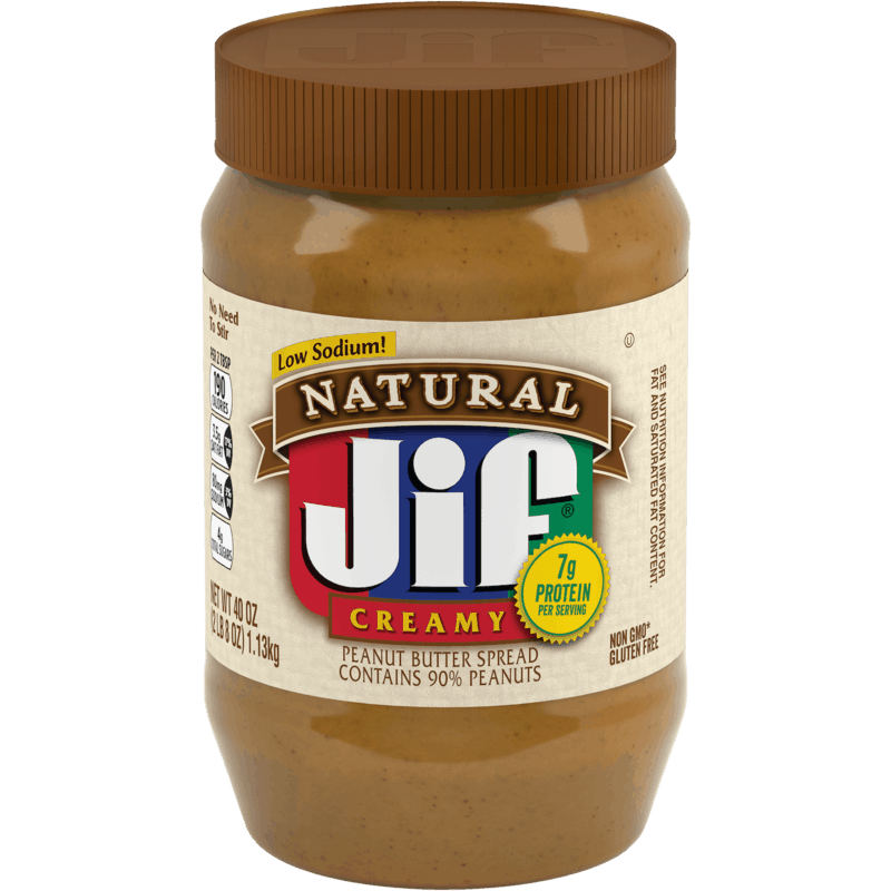 $0.50 for Jif® Peanut Butter & Jif® Natural Peanut Spread. Offer available at Walmart.