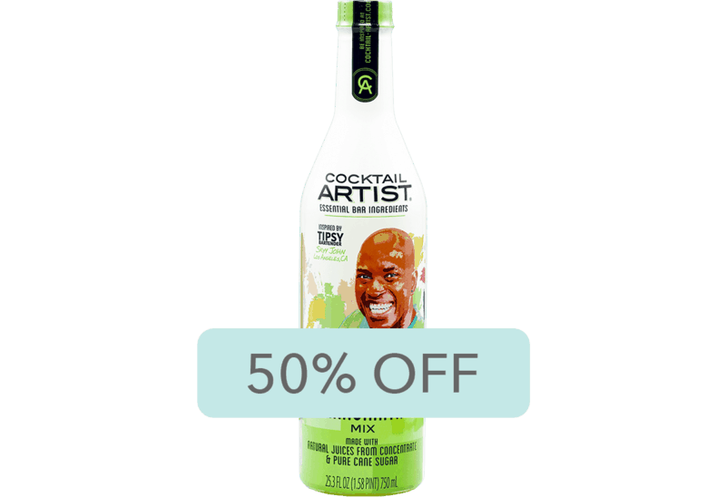 $2.00 for Cocktail Artist® Premium Mixes (expiring on Friday, 05/31/2019). Offer available at Walmart.