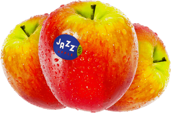 $1.00 for JAZZ™ Apples. Offer available at multiple stores.