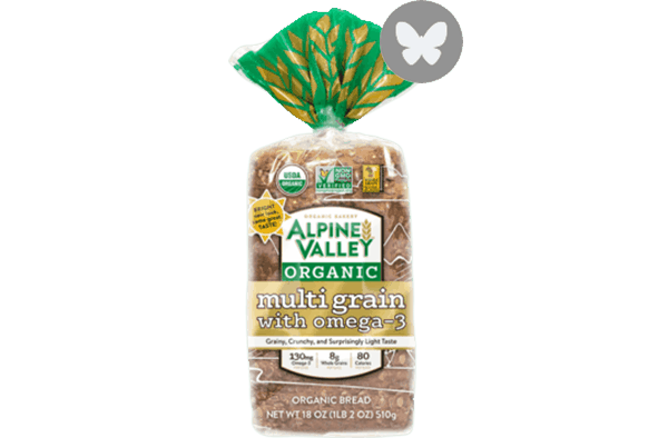 $0.75 for Alpine Valley™ Bakery Bread (expiring on Wednesday, 05/02/2018). Offer available at multiple stores.