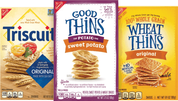 $1.00 for Nabisco Crackers (expiring on Monday, 02/12/2018). Offer available at Walmart.