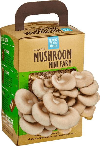 $3.50 for Back to the Roots® Mushroom Mini Farm. Offer available at multiple stores.