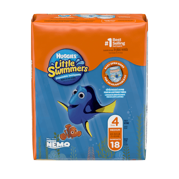 $1.00 for Huggies® Little Swimmers®  (expiring on Monday, 12/02/2019). Offer available at Walmart.