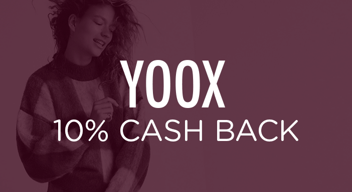 $0.00 for YOOX (expiring on Friday, 10/31/2025). Offer available at YOOX.