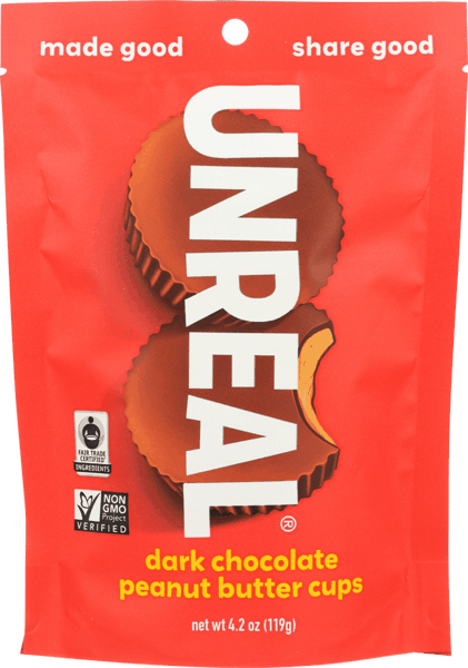 $0.50 for UnReal Chocolate Snacks (expiring on Tuesday, 04/02/2019). Offer available at multiple stores.