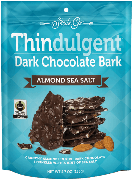 $0.75 for Thindulgent™ Milk Chocolate Bark Almond Sea Salt (expiring on Tuesday, 10/02/2018). Offer available at multiple stores.