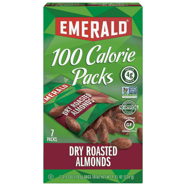 $0.50 for Emerald® Nuts 100 Calorie Pack. Offer available at multiple stores.