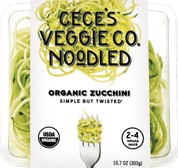 $0.50 for Cece's Veggie Co. Veggie Spirals (expiring on Sunday, 01/31/2021). Offer available at multiple stores.