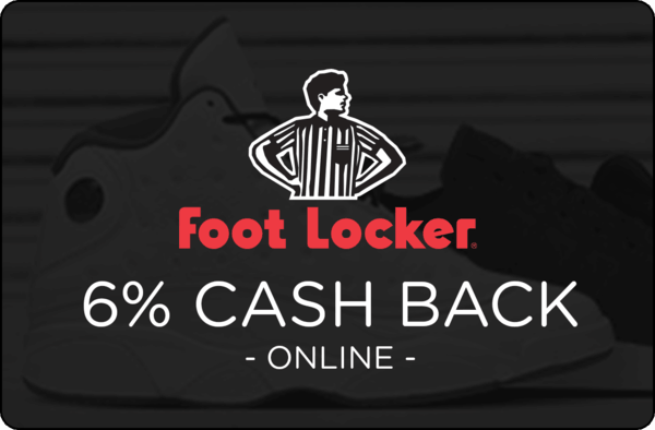 $0.00 for Foot Locker (expiring on Sunday, 10/22/2017). Offer available at Foot Locker.