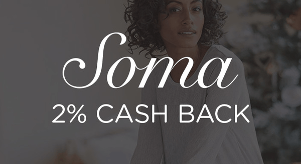 $0.00 for Soma Intimates (expiring on Monday, 03/31/2025). Offer available at Soma .