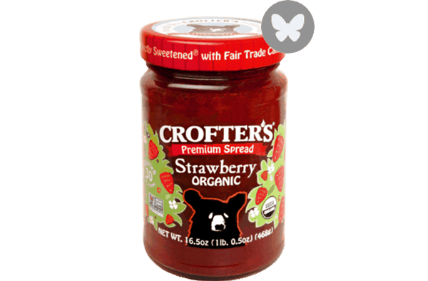 $0.50 for Crofter's Organic® Premium Fruit Spreads (expiring on Wednesday, 05/02/2018). Offer available at Walmart.