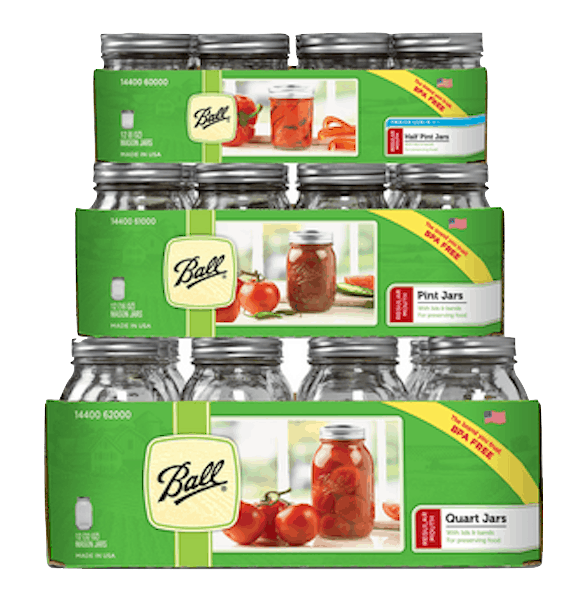 $3.00 for Ball® Jars. Offer available at multiple stores.
