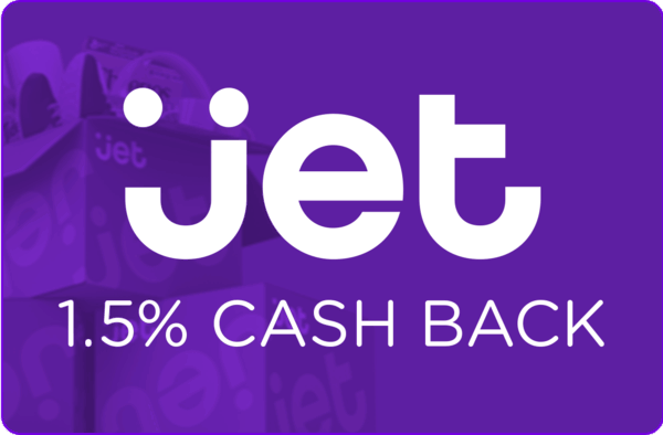 $0.00 for Jet (expiring on Friday, 08/24/2018). Offer available at Jet.
