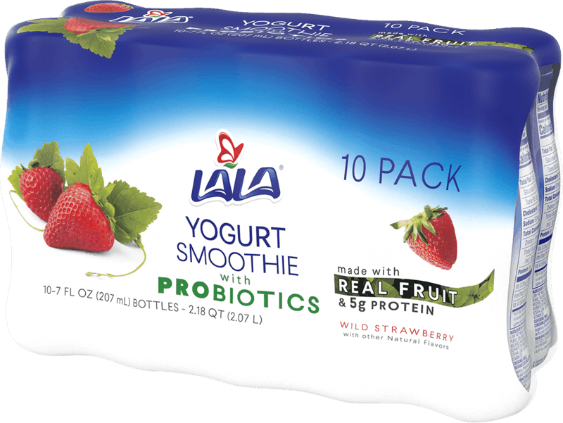 $1.00 for LALA Yogurt Smoothie (expiring on Saturday, 01/25/2020). Offer available at Walmart.