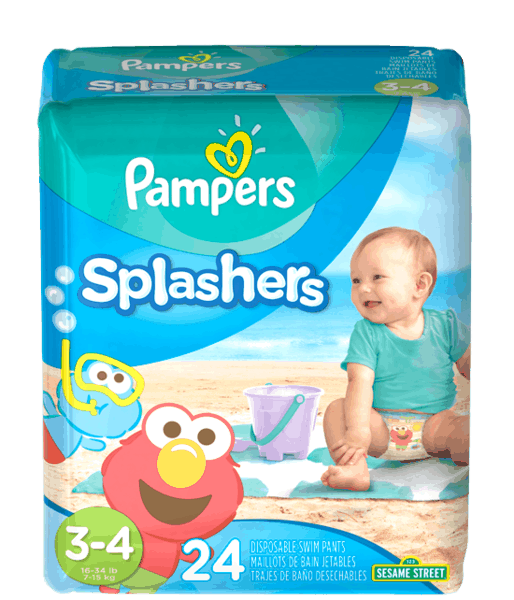$2.00 for Pampers® Splashers (expiring on Tuesday, 05/30/2017). Offer available at multiple stores.
